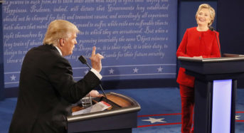 Presidential Debate #1 — Clinton Keeps Her Cool, But Trump Goes Off the Rails