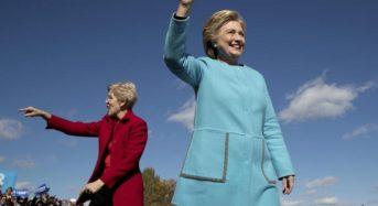 Clinton Closes the Door Behind Trump and Focuses Instead on Electing Democratic Senators