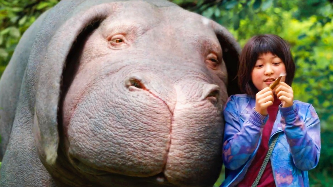 Bong joon ho s okja one of the best films of the - The lion in the living room netflix ...