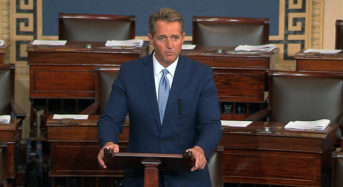 GOP Sen. Jeff Flake Joins GOP Sen. Bob Corker in Retiring, Saying That They Can't Work With Trump Anymore