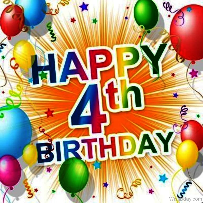Happy 4th Birthday To Us!